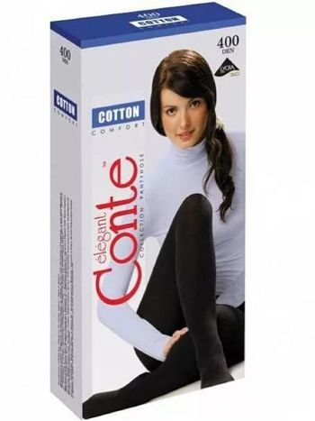 Колготки Conte Cotton 400