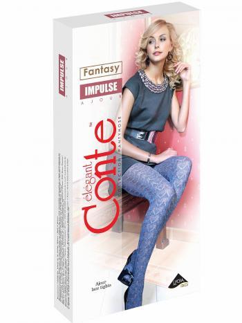 Колготки Conte ImpulseКолготки Conte Impulse. Теплые ажурные колготки из хлопка с эффектом 3D вязки. Плоский шов, хлопковая ластовица, уплотненный мысок.<br>