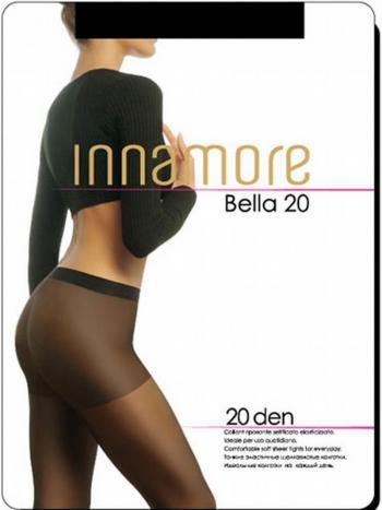 Колготки Innamore Bella 20Колготки Innamore Bella плотностью 20 ден. Шелковистые тонкие эластичные колготки с комфортными шортиками и прозрачным укрепленным мыском.<br>