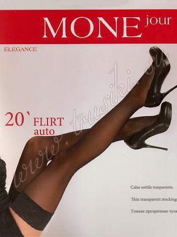 Чулки MONEjour Flirt 20
