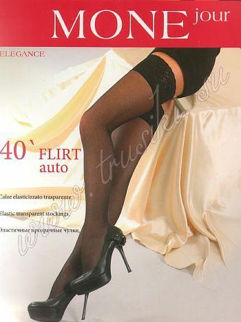 Чулки MONEjour Flirt 40