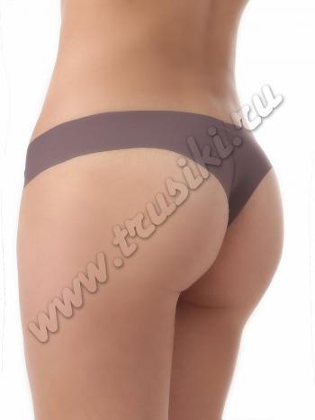 Трусики Intri STL-169Трусики бразильяна Intri STL-169. Модель будет незаметно смотреться под облегающей одеждой, благодаря особому крою и отсутствию швов. Изнутри хлопковая ластовица.<br>