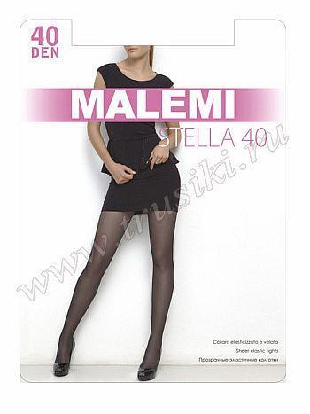 Колготки Malemi Stella 40Колготки 40 ден Malemi Stella. Прозрачные эластичные колготки с шортиками, комфортным поясом и прозрачным укрепленным мыском.<br>