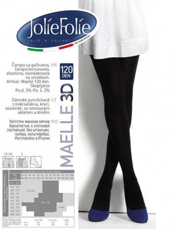 Колготки Jolie Folie Maelle 3D