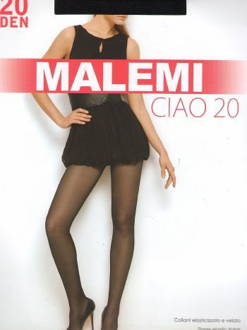 Колготки Malemi Ciao 20Колготки Malemi Ciao 20 ден. Тонкие прозрачные эластичные колготки с шортиками, комфортным поясом и прозрачным мыском. В таких тоненьких колготках Вы будете ощущать себя легкой и воздушной!<br>