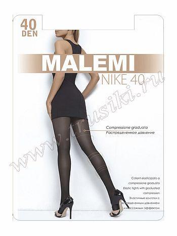 Колготки Malemi Nike 40Колготки 40 ден Malemi Nike. Эластичные колготки с шортиками, массажным эффектом и распределенным по ноге давлением. Комфортный пояс, хлопковая гигиеничная ластовица, укрепленный прозрачный мысок.<br>