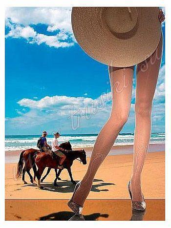 Колготки Charmante San Carlos 40Колготки 40 ден Charmante San Carlos. Оригинальная модель, чтобы приоткрыть стройные ножки и щеголять в модных нарядах! Данная модель послужит хорошим помощником в составлении идеального образа. На колготках фантазийный рисунок в виде имитации гольф с завязанным спереди бантиком. До середины лодыжек модель имеет рисунок в сеточку и ажурную окантовку, верх модели однотонный, без выделенных трусиков.&amp;nbsp;<br>