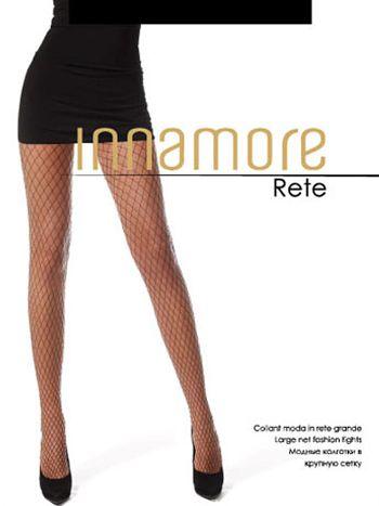 Колготки Innamore ReteКолготки в крупную сетку Innamore Rete. Модные колготки в крупную сетку, без трусиков, с мягким поясом и хлопковой ластовицей.<br>