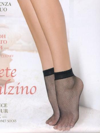 Носки MiNiMi Rete CalzinoНоски в сеточку MiNiMi Rete Calzino. Модные носочки с эластичной резиночкой по верхнему краю. Нежная сеточка подчеркнет изящность ваших ножек.<br>