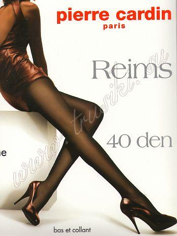 Колготки Pierre Cardin Reims 40Колготки 40 ден Pierre Cardin Reims шелковистые, эластичные, однородные по всей длине с х/б ластовицей, и плоскими швами.<br>