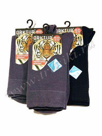 Носки Arktur J-001Мужские носки Arktur J-001. Классические всесезонные мужские носки. Прекрасно подойдут для повседневной носки, без рисунка.<br>