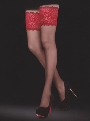 Чулки Eccellente AmareЧулки Eccellente Amare. Роскошные чулочки с широкой ажурной резиночкой. Модель подчеркнет длину и стройность ног.<br>