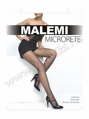 Колготки Malemi MicroreteКолготки Malemi Microrete. Модные колготки в мелкую сетку, без шортиков в верхней части, с гигиенической хлопковой ластовицей и удобным ластичным поясом. Экспериментируйте со своим образом, оставаясь загадочной и женственной!<br>