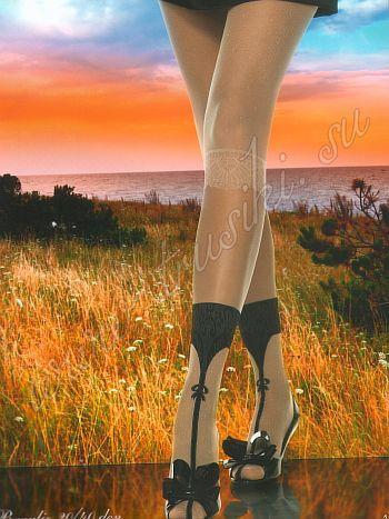 Колготки Charmante Braulio 20/40Колготки 20/40 ден Charmante Braulio. Элегантные колготки с имитацией лосин и носочков с оригинальным браслетами и ремешком. Идеально подчёркивают длину и стройность ног. Великолепно сочетаются с любым дамским туалетом. Плоские швы, укрепленный носочек, х/б ластовица и широкий эластичный пояс для особого комфорта, верх изделия без выделенных трусиков.<br>