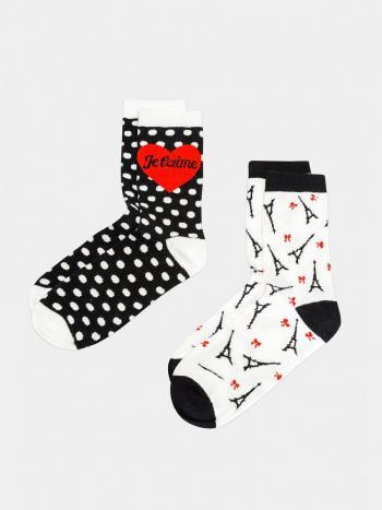 Набор носков Infinity NottiНабор из 2-х пар носков Infinity Notti 31204420032. Симпатичные носочки из хлопкового трикотажа с оригинальным принтом.<br>