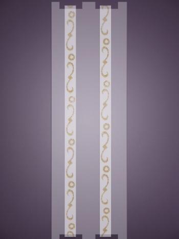 Бретельки Infinity S0195Силиконовые регулируемые бретельки с рисунком Infinity S0195 шириной 1 см с изящным рисунком.<br>