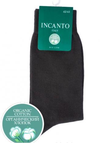 Носки Incanto BU733026Носки мужские Incanto BU733026. Всесезонные гладкие однотонные носки из органического хлопка.<br>