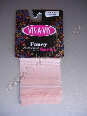 Фантазийные носки Vis-A-Vis CL 158Носки фантазийные шелковистые, с эластичной и комфортной резинкой.<br>