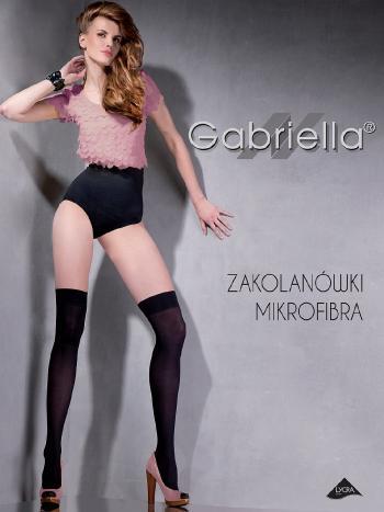 Гетры Gabriella MicrofibraГетры Gabriella Zakolanowki Microfibra. Стильные полупрозрачные чулки-ботфорты из нежной микрофибры с лайкрой. Гетры однородные по всей длине, с уплотненным мыском и комфортной резинкой шириной 6 см.<br>