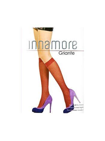 Гольфы Innamore GrianteГольфы Innamore Griante с рисунком по спирали и комфортной резинкой.<br>