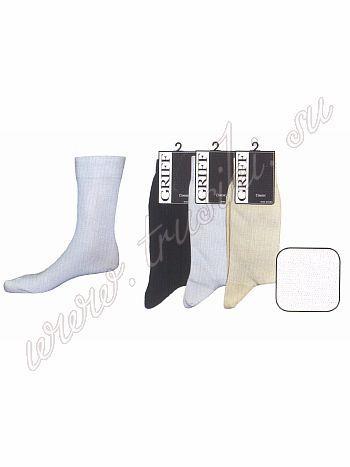Носки Griff A 21Всесезонные мужские носки Griff A 21. Эта классическая модель мягкая, комфортная и прочная. Носки имеют широкую удобную резинку, которая не передавливает кожу и не сжимает сосуды. В данной модели удлиненный паголенок, усиленные пятка и мысок.<br>