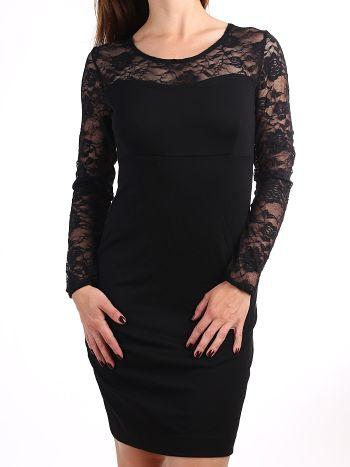 Платье Pelican FDJ613Платье Pelican FDJ613. Платье приталенного силуэта подчеркнет женственные изгибы вашей фигуры. Верхняя часть и рукава выполнены из полупрозрачной сеточки с ажурным рисунком. Модель идеально подойдет для романтических встреч.&amp;nbsp;<br>
