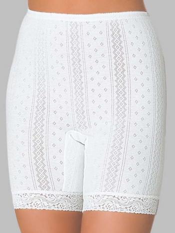 Панталоны Vis-A-Vis LHP 1003MПанталоны Vis-A-Vis LHP 1003M. Модель выполнена из мягкого, перфорированного хлопка, удобный пояс на резинке создает дополнительный комфорт. В нижней части на ножках ажурные вставки.&amp;nbsp;<br>