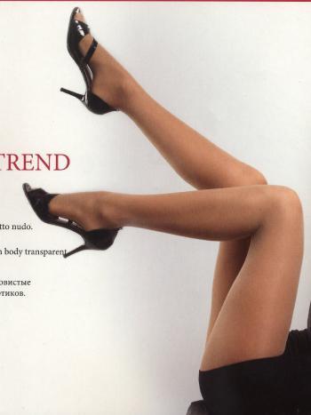 Колготки MONEjour Trend 40Колготки 40 ден MONEjour Trend. Шелковистые колготки без шортиков - идеальный вариант под короткое платье или юбку. У модели эластичный поясок, плоские швы, хлопковая ластовица и укрепленный мысок.<br>