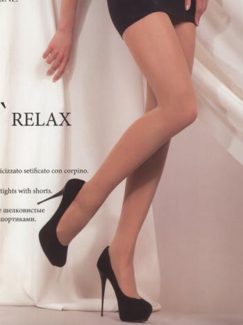 Колготки MONEjour Relax 40Колготки 40 ден MONEjour Relax. Эластичные шелковистые колготки с моделирующими шортиками. Легкий массажный эффект обеспечивает комфорт. В модели невидимый мысок, плоские швы, формованная нога.<br>
