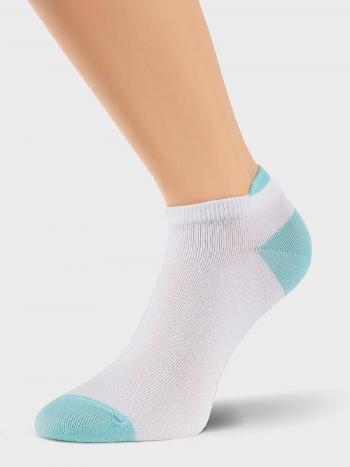 Носки Clever Д303Носки Clever Д303. Удобные всесезонные носочки с укороченным паголенком в спортивном стиле. Приятный хлопковый трикотаж.<br>
