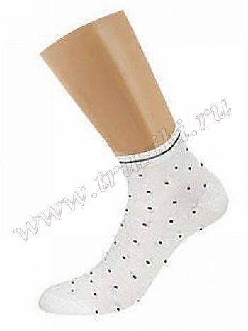 Носки Griff D4U8Всесезонные укороченные эластичные женские носки из бамбука с оригинальным рисунком. С комфортной резинкой, усилением пятки и мыска, с кеттельным швом.<br>