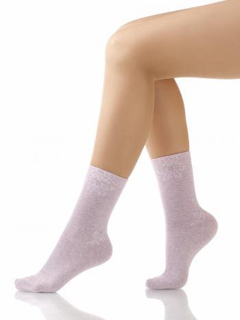 Носки Charmante SCHK-1024Носки Charmante SCHK-1024. Удобные носочки с тонким принтом в виде снежинки.<br>