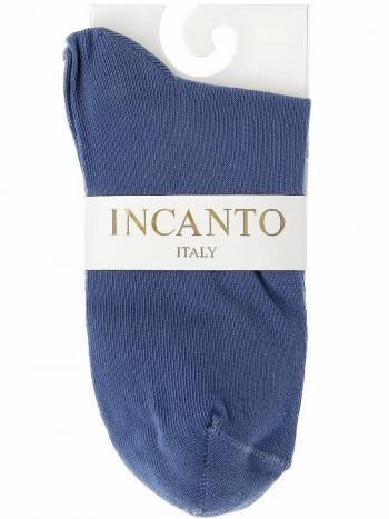 Носки Incanto IBD733003Носки женские Incanto IBD733003. Всесезонные однотонные носочки из хлопка. Комфортная резинка, формованная пяточка и мысок.<br>
