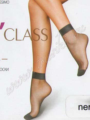 Носки MiNiMi ClassСупер тонкие летние нейлоновые носки 15ден MiNiMi Class с укрепленным мыском<br>