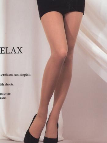 Колготки MONEjour Relax 20Колготки 20 ден MONEjour Relax. Эластичная модель с лайкрой имеет корректирующие шортики с легким массажным эффектом.&amp;nbsp; Колготки полупрозрачные, формованная нога, плоские швы, уплотненный невидимый мысок.<br>