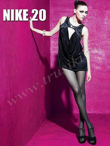 Колготки Malemi Nike 20Колготки Malemi Nike плотностью 20 ден. Эластичные поддерживающие колготки с распределенным давлением, гигиеничной хлопковой ластовицей и прозрачными укрепленными мысками.<br>