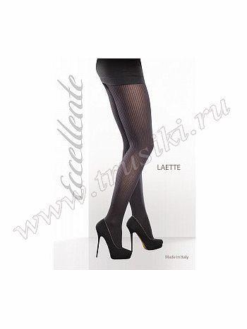 Колготки Eccellente EccellenteФантазийные колготки Eccellente Laette. Стильные колготки с плоскими швами, укрепленным носком и ластовицей. Мягкая и приятная на ощупь ткань позволит чувствовать себя комфортно. Модель отлично подойдет для повседневной носки!<br>