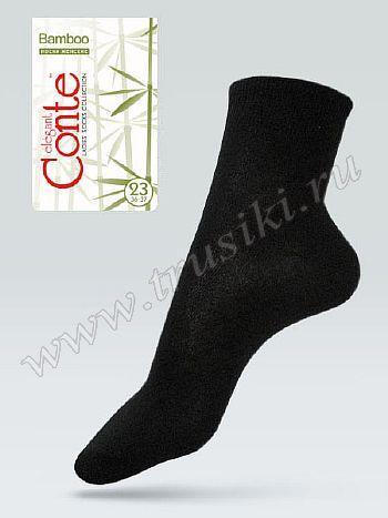 Носки Conte 13С-84СПНоски женские Conte 13С-84СП. Комфортные всесезонные носки выполнены из однотонного бамбукового трикотажа. Удобная резинка, уплотненный мысок.<br>