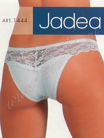 Трусики Jiadea 1444Трусики бразильяна Jiadea 1444. Оригинальная модель выполнена из гладкого полиамида, в качестве декора сеточка с цветочным принтом.<br>