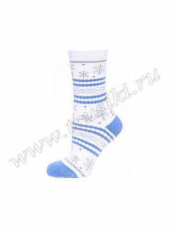 Носки Griff D9AP42Носки Griff D9AP42. Оригинальные носочки с добавлением натурального хлопка, по всему диаметру рисунок - снежинки и полоски. Усиленный мысок и пятка, выделенные другим цветом. Очень удобные и комфортные.<br>