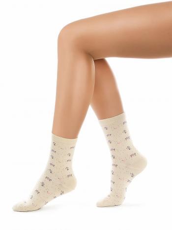 Носки Charmante SCHK-1609Носки женские Charmante SCHK-1609. Всесезонные носочки с мелким рисунком.<br>
